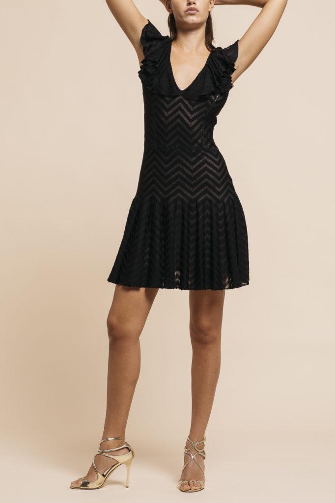 size 40 fd124 40770 Christian Dior Abito Volant on shoulders, Vestiti ...
